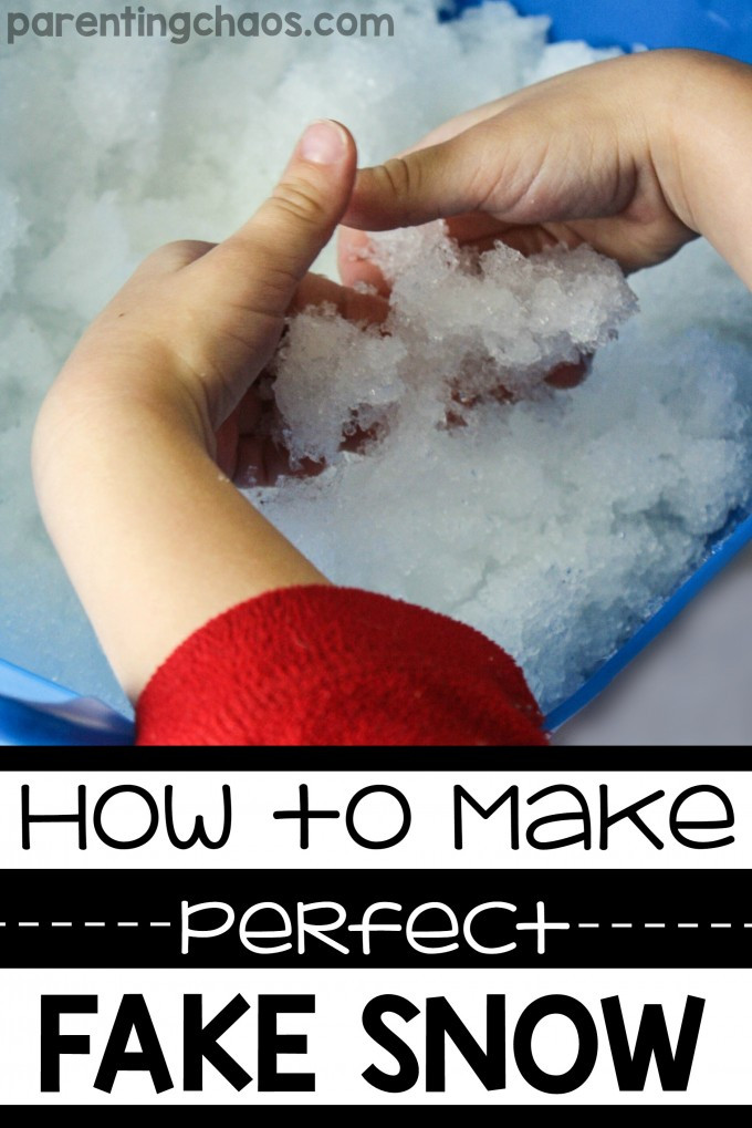 Best ideas about DIY Fake Snow . Save or Pin How to Make Perfect Fake Snow Now.