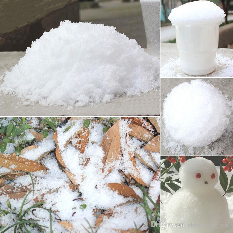 Best ideas about DIY Fake Snow . Save or Pin Christmas Decoration Instant Snow Magic Prop DIY Instant Now.