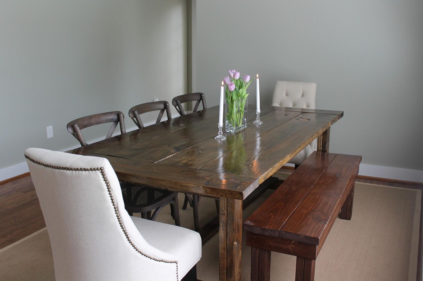 Best ideas about DIY Farmhouse Kitchen Table . Save or Pin DIY Farmhouse Dining Table Carolina Charm Now.