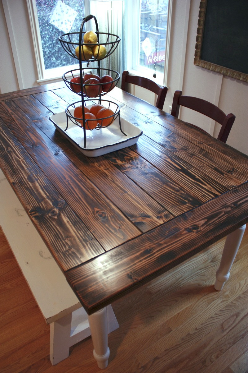 Best ideas about DIY Farmhouse Kitchen Table . Save or Pin New Project DIY Farmhouse Table Now.