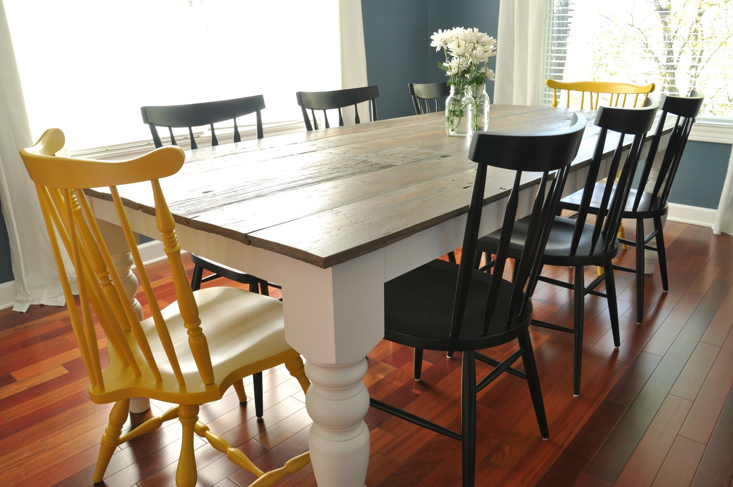 Best ideas about DIY Farmhouse Kitchen Table . Save or Pin 7 DIY Farmhouse Tables with Free Plans Now.