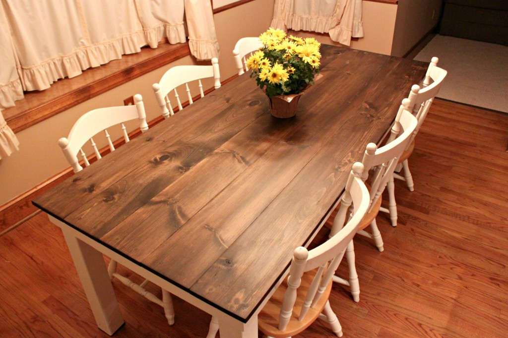 Best ideas about DIY Farmhouse Kitchen Table . Save or Pin How to Build a Dining Room Table 13 DIY Plans Now.