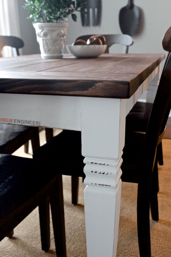 Best ideas about DIY Farmhouse Kitchen Table . Save or Pin DIY Farmhouse Table Free Plans Now.