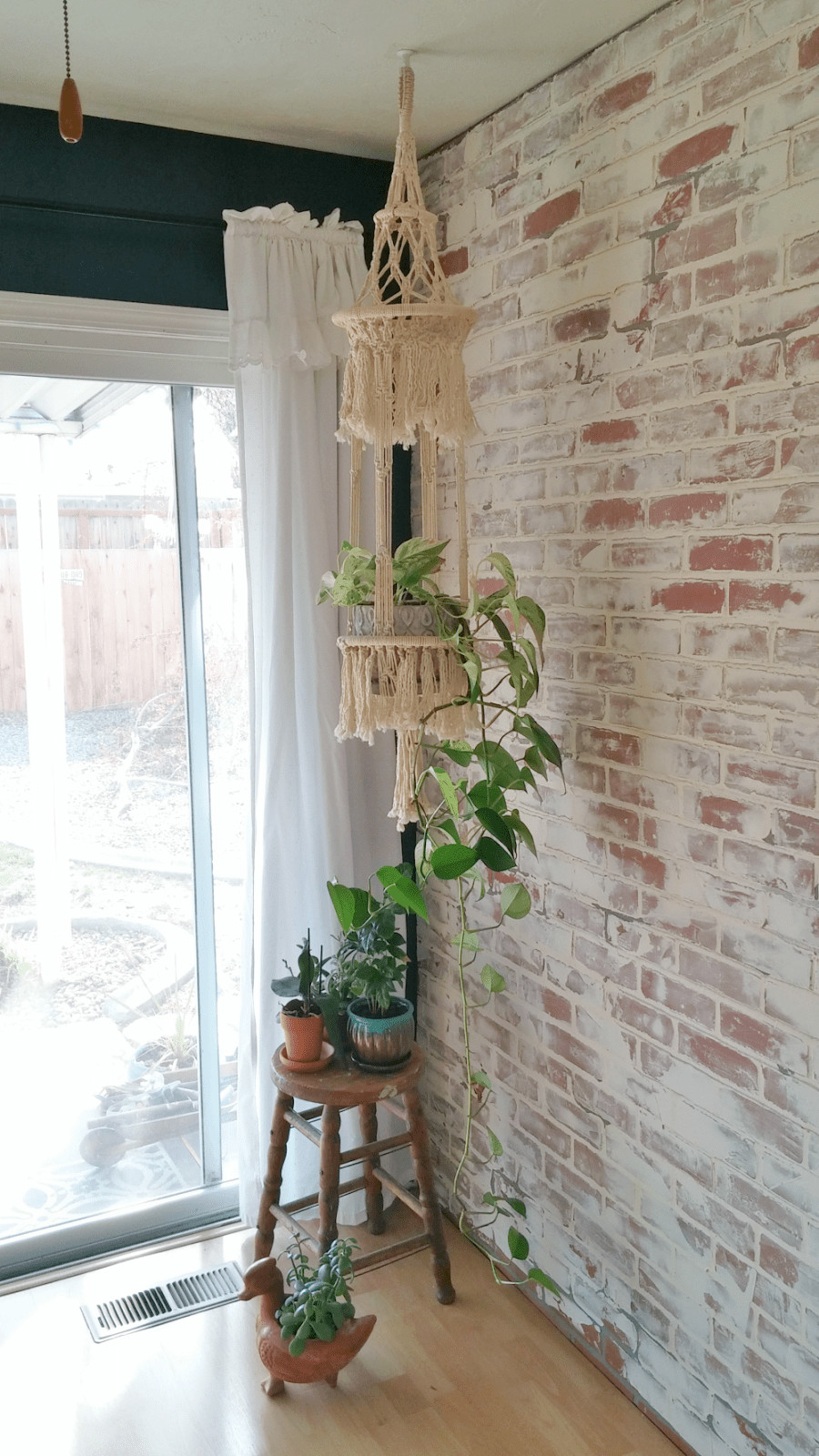 Best ideas about DIY Faux Brick Wall . Save or Pin Faux Brick Wall With German Smear Easy DIY to Add Brick Now.