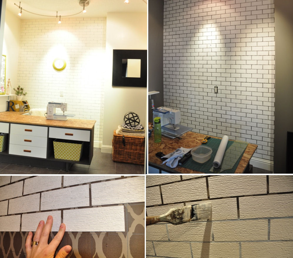 Best ideas about DIY Faux Brick Wall . Save or Pin Simple Ways To Recreate The Look Real Exposed Brick Walls Now.