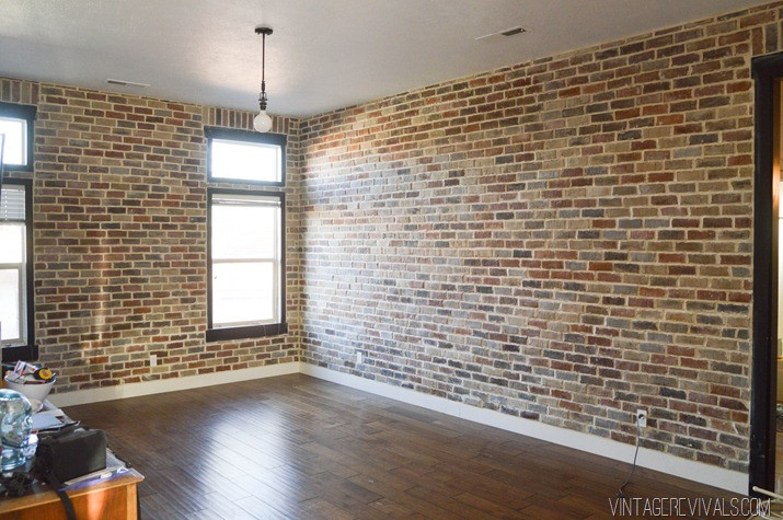 Best ideas about DIY Faux Brick Wall . Save or Pin 10 DIY Faux And Real Exposed Brick Walls Shelterness Now.