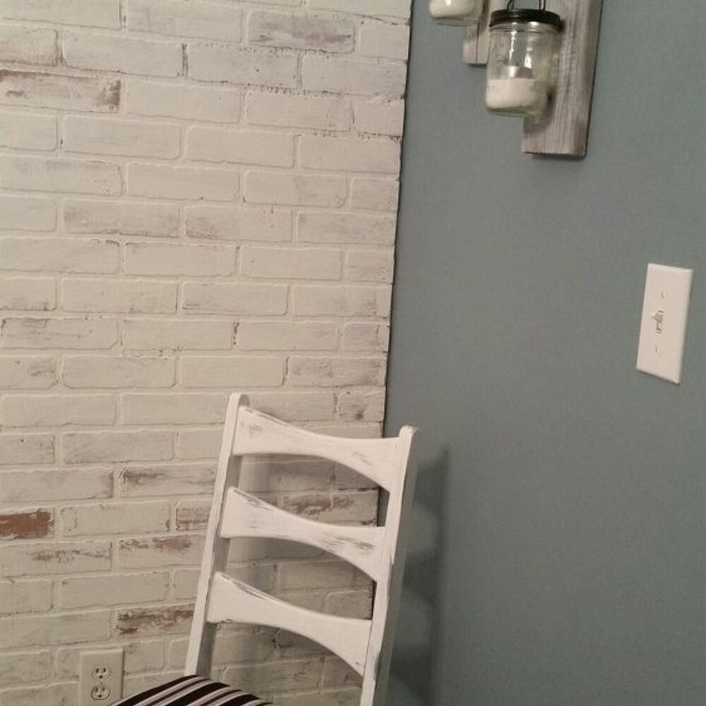 Best ideas about DIY Faux Brick Wall . Save or Pin Faux Brick Wall Now.