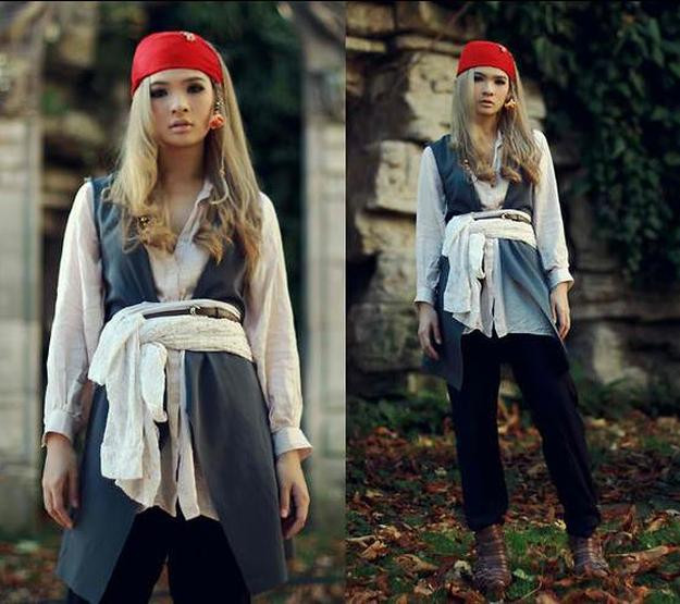 The Best Ideas For Diy Female Pirate Costumes Best