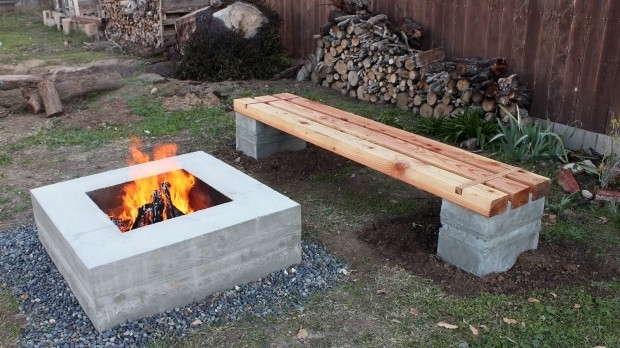 Best ideas about DIY Fire Pit Bench . Save or Pin Diy Fire Pit Bench Fire Pit Ideas Now.