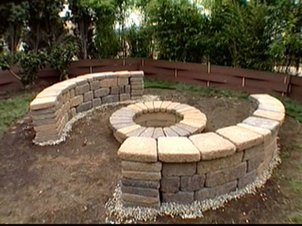 Best ideas about DIY Fire Pit Bench . Save or Pin Fire Pit DIY & Ideas Now.