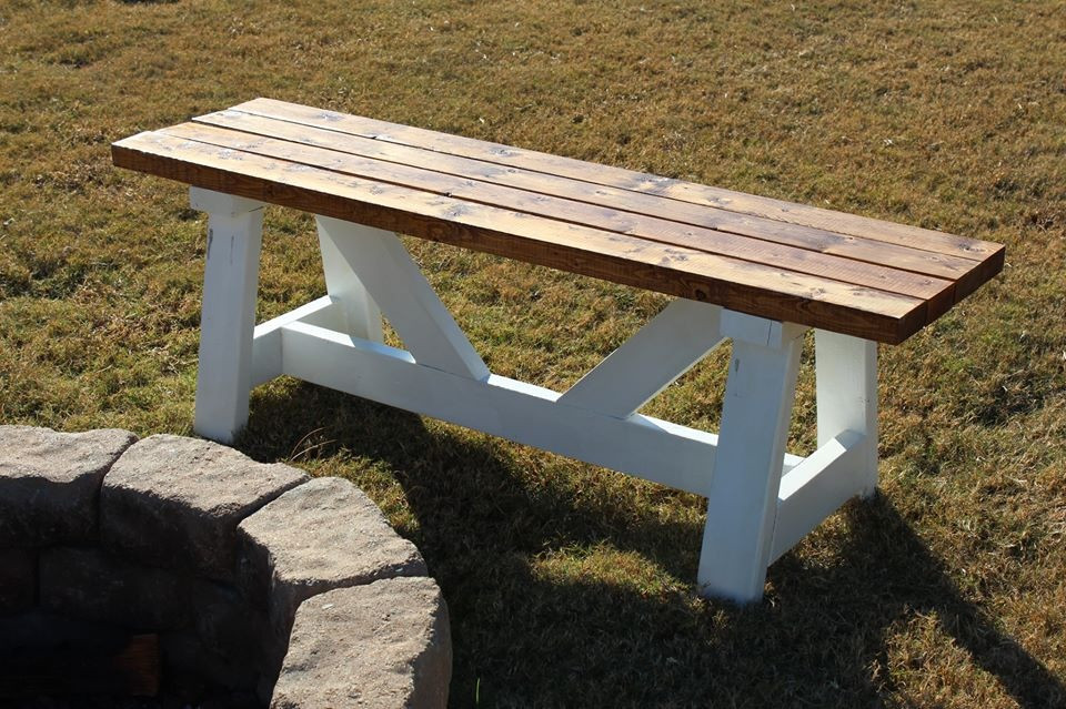 Best ideas about DIY Fire Pit Bench . Save or Pin Ana White Now.