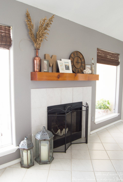 Best ideas about DIY Fireplace Mantel Ideas . Save or Pin 15 Elegant DIY Fireplace Mantel And Surrounds – Home And Now.