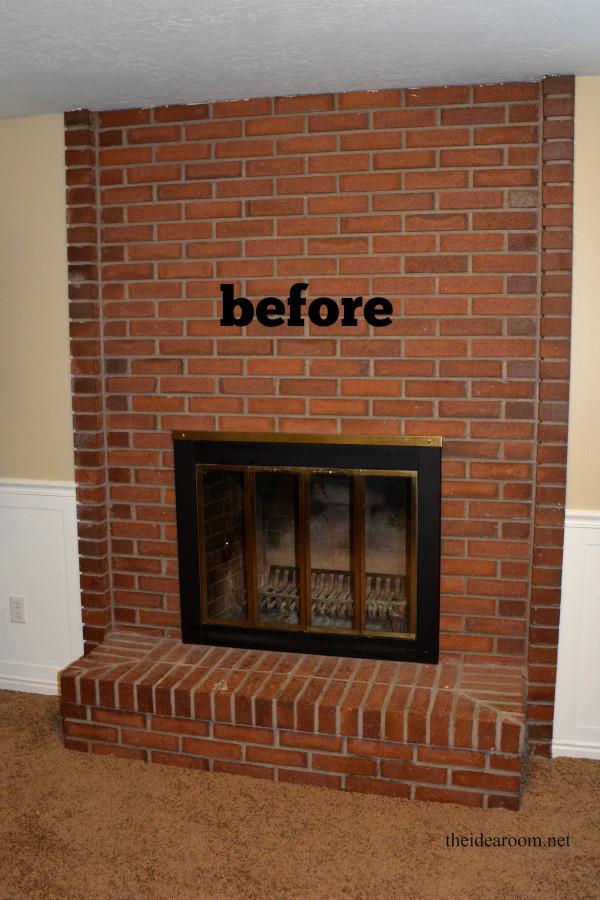 Best ideas about DIY Fireplace Mantel Ideas . Save or Pin DIY Fireplace Mantel The Idea Room Now.