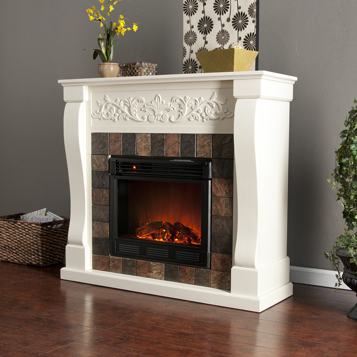 Best ideas about DIY Fireplace Mantel Ideas . Save or Pin DIY Mantel For Electric Fireplace Now.
