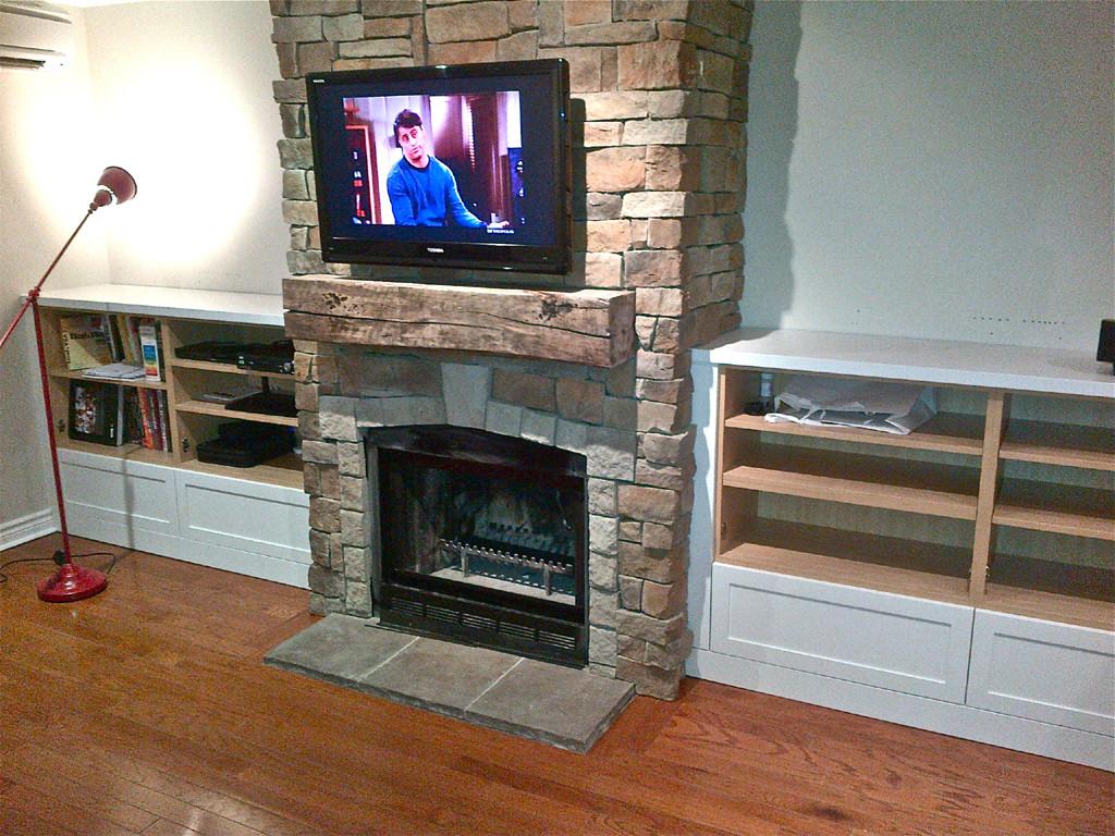 Best ideas about DIY Fireplace Mantel Ideas . Save or Pin DIY Fireplace Mantel Now.