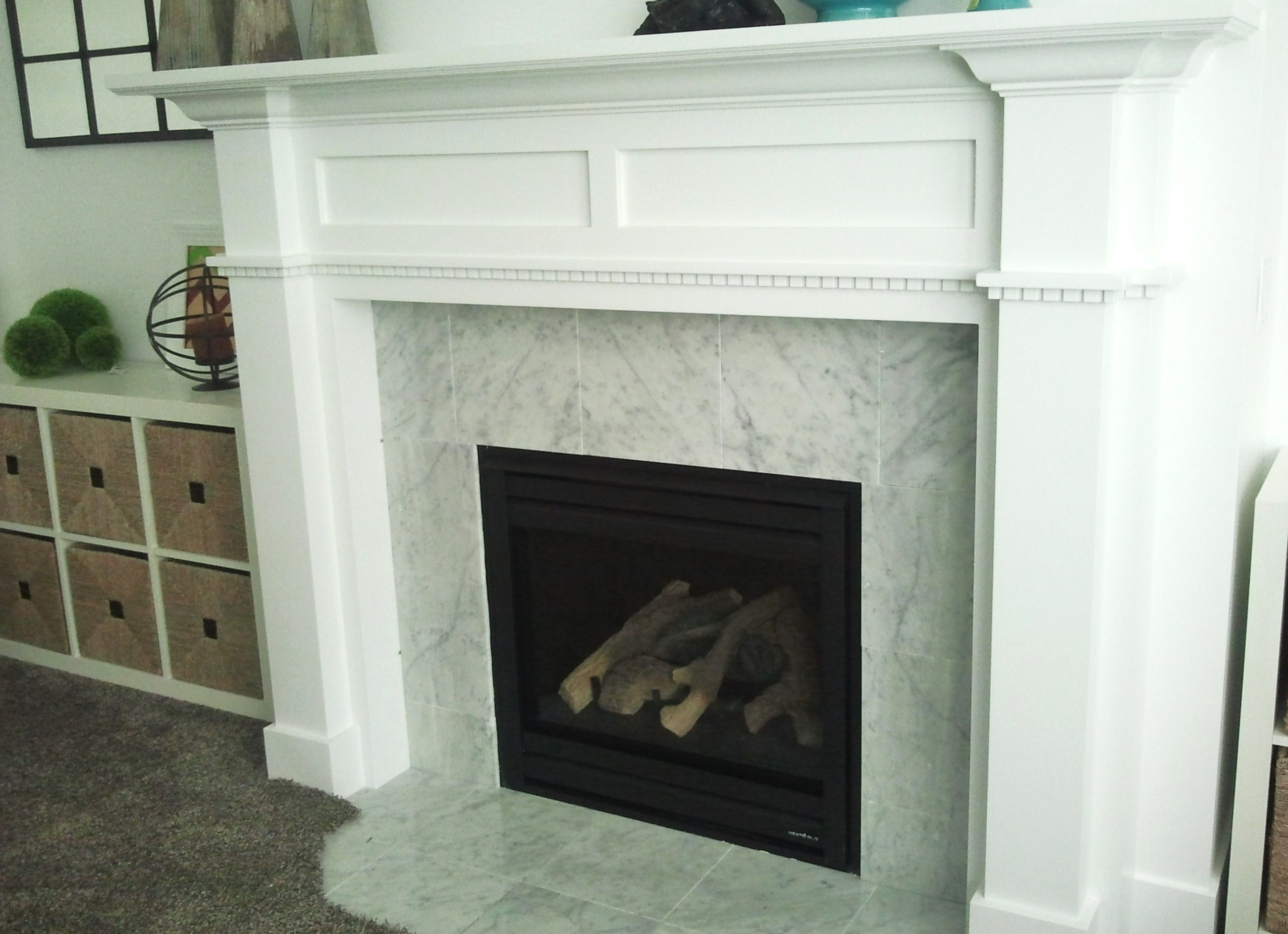 Best ideas about DIY Fireplace Mantel Surround Plans . Save or Pin DIY Fireplace Mantel And Surround Now.