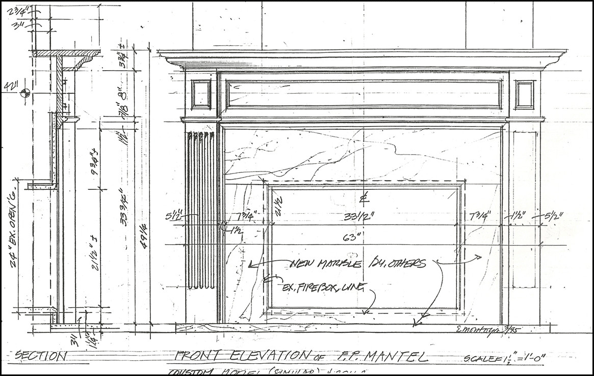 Best ideas about DIY Fireplace Mantel Surround Plans . Save or Pin Fireplace Mantel Plans Now.