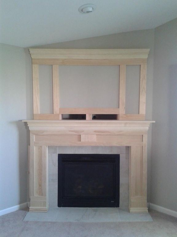 Best ideas about DIY Fireplace Mantel Surround Plans . Save or Pin Diy Fireplace Surround Plans WoodWorking Projects & Plans Now.