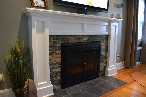 Best ideas about DIY Fireplace Mantel Surround Plans . Save or Pin Fireplace Facades on Pinterest Now.