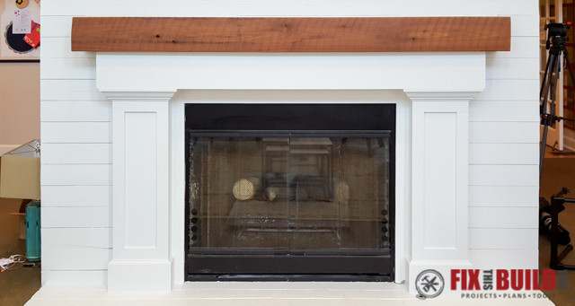 Best ideas about DIY Fireplace Mantel Surround Plans . Save or Pin How to Build a Fireplace Surround and Mantel Now.