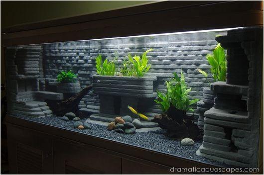 Best ideas about DIY Fish Tank Decor . Save or Pin Dramatic AquaScapes DIY Aquarium Background Bob Kyaw Now.
