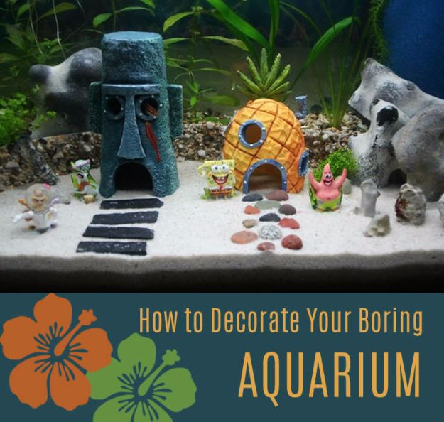 Best ideas about DIY Fish Tank Decor . Save or Pin 15 Awesome DIY Aquarium Ideas That Are Full Creativity Now.