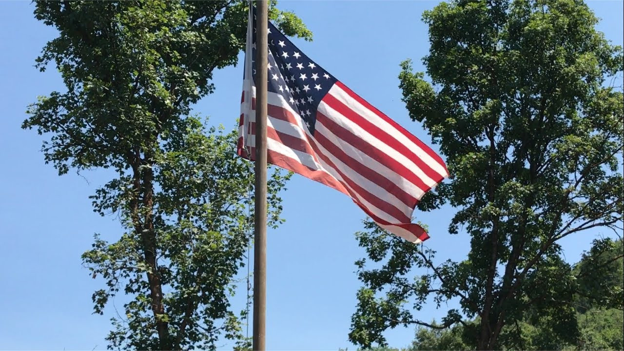Best ideas about DIY Flag Pole . Save or Pin DIY 15 Flag Pole The Cheap Happy 4th of July Now.