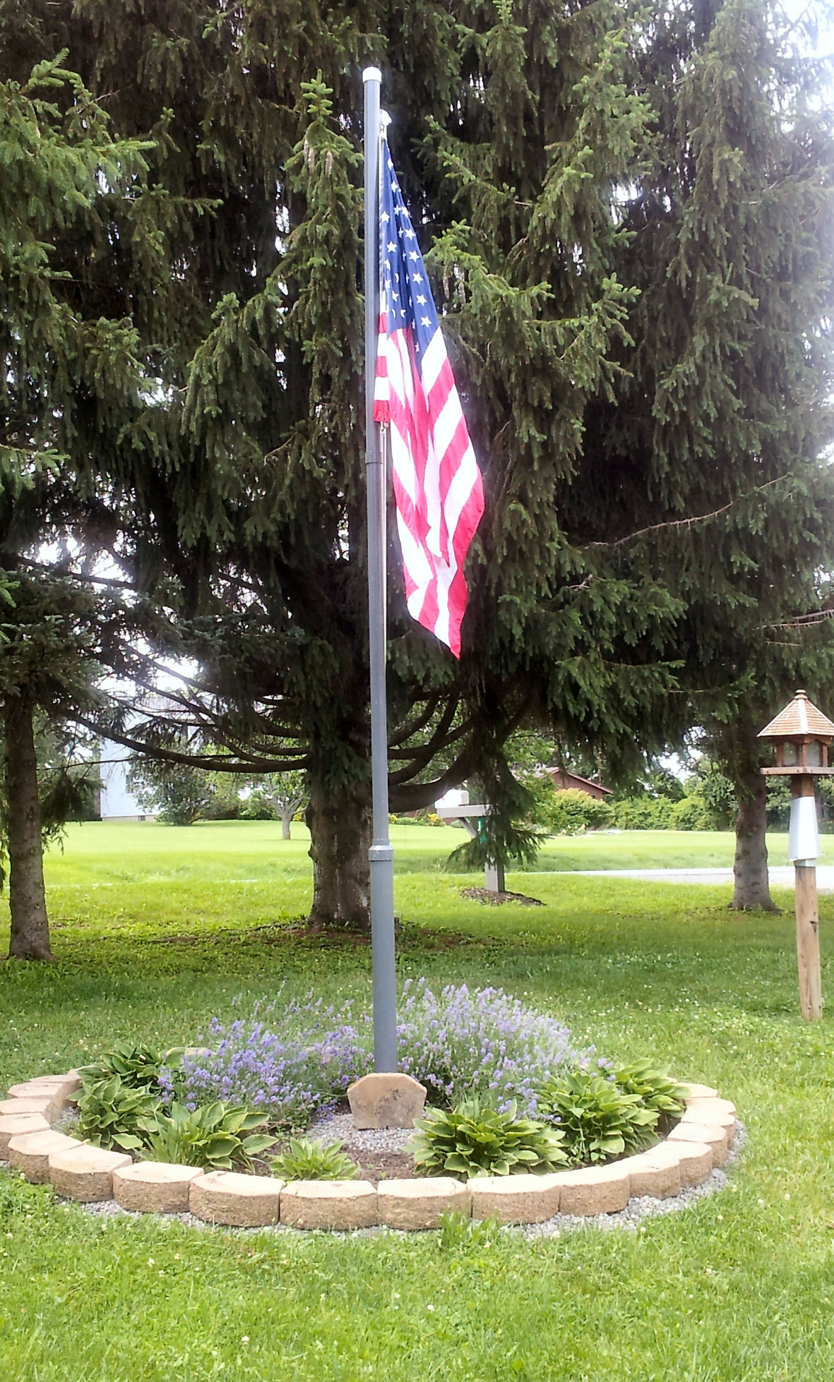 Best ideas about DIY Flag Pole . Save or Pin DIY Flag Pole Mr McGee Takes Over the Blog My Mobile Now.