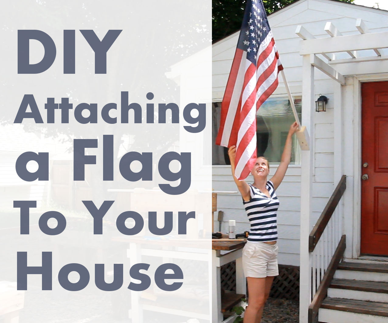 Best ideas about DIY Flag Pole . Save or Pin DIY Flag Pole out of PVC Now.