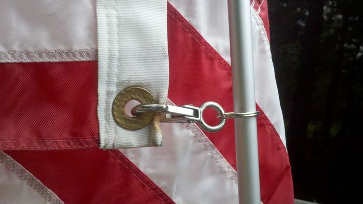Best ideas about DIY Flag Pole . Save or Pin DIY flagpole and holder Now.
