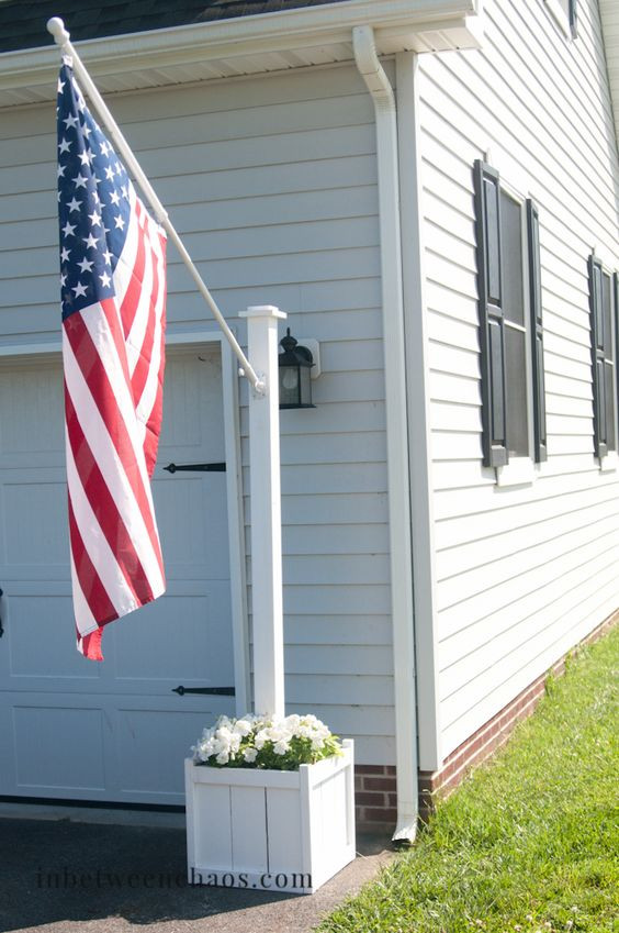 Best ideas about DIY Flag Pole . Save or Pin Flag poles Planters and Flags on Pinterest Now.