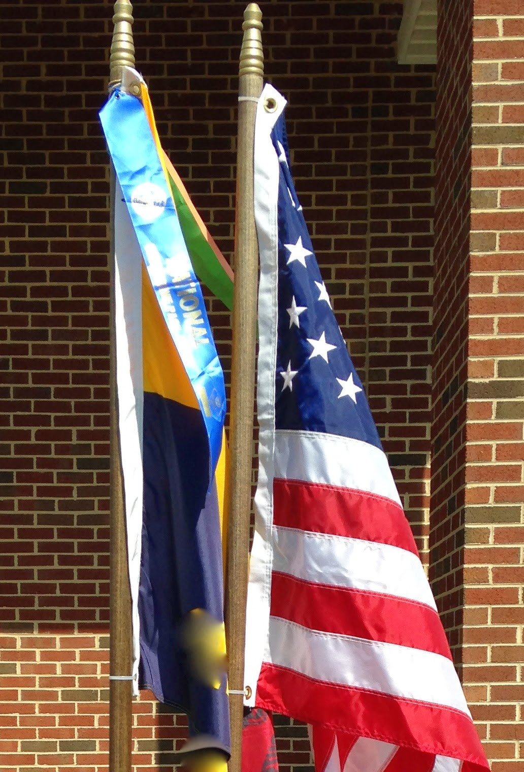 Best ideas about DIY Flag Pole . Save or Pin 1001 Goals DIY Flagpoles and Stand Cub Scouts Now.