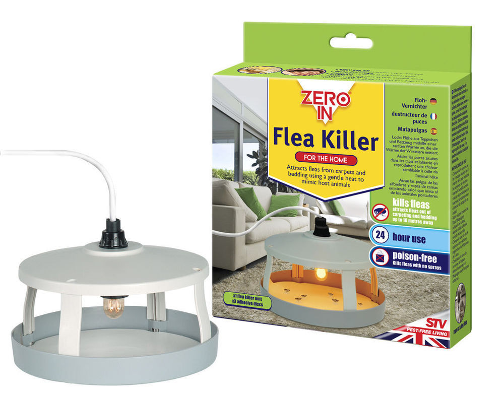 Best ideas about DIY Flea Trap . Save or Pin STV ZERO IN FLEA TRAP KILLER FOR THE HOME TRAPS DOG FLEAS Now.
