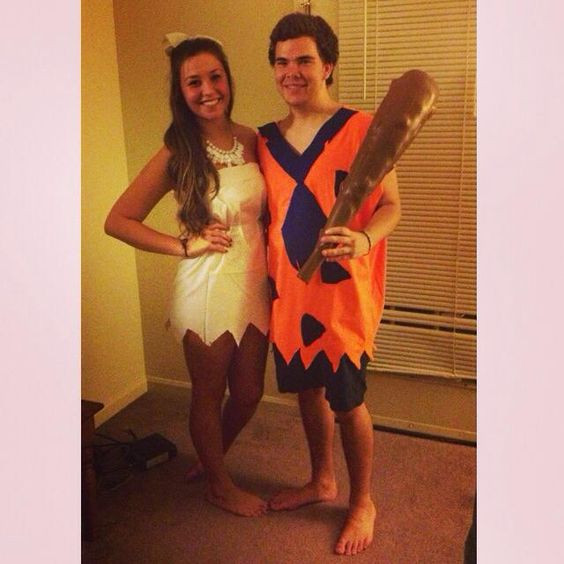 Best ideas about DIY Flintstone Costumes . Save or Pin Pinterest • The world's catalog of ideas Now.