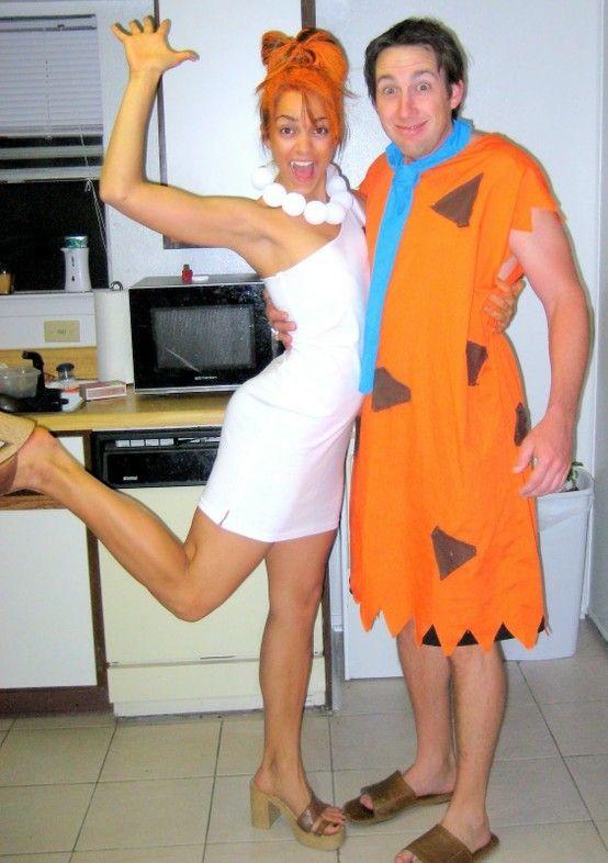 Best ideas about DIY Flintstone Costumes . Save or Pin Flintstone DIY Adult Halloween Costume Now.