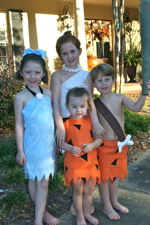 Best ideas about DIY Flintstones Costumes . Save or Pin 40 Awesome Homemade Kid Halloween Costumes You Can Now.