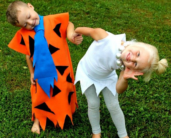 Best ideas about DIY Flintstones Costumes . Save or Pin Easy DIY Flintstones Costumes Fred and Wilma Costume Now.