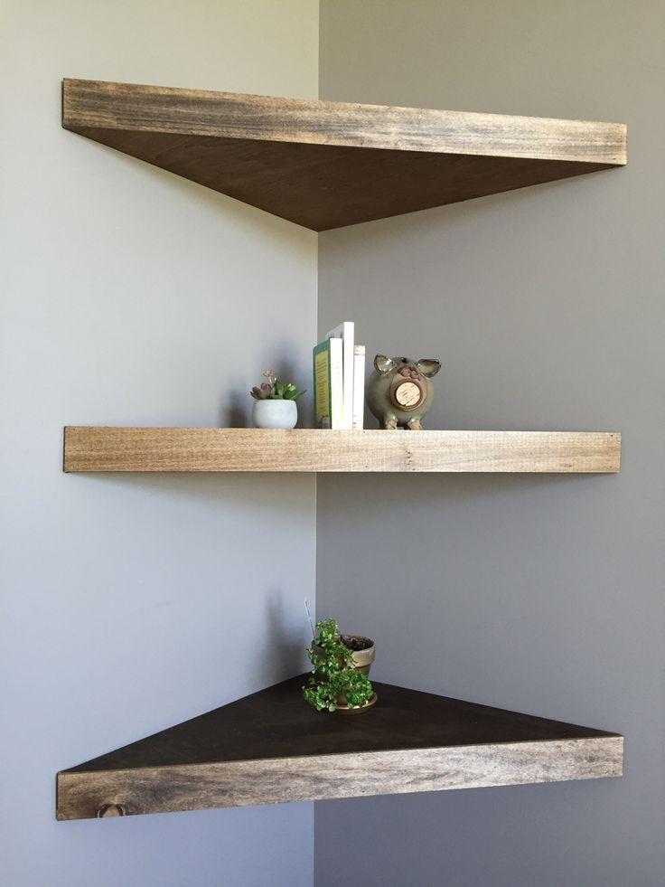 Best ideas about DIY Floating Corner Shelves . Save or Pin 25 best ideas about Floating corner shelves on Pinterest Now.