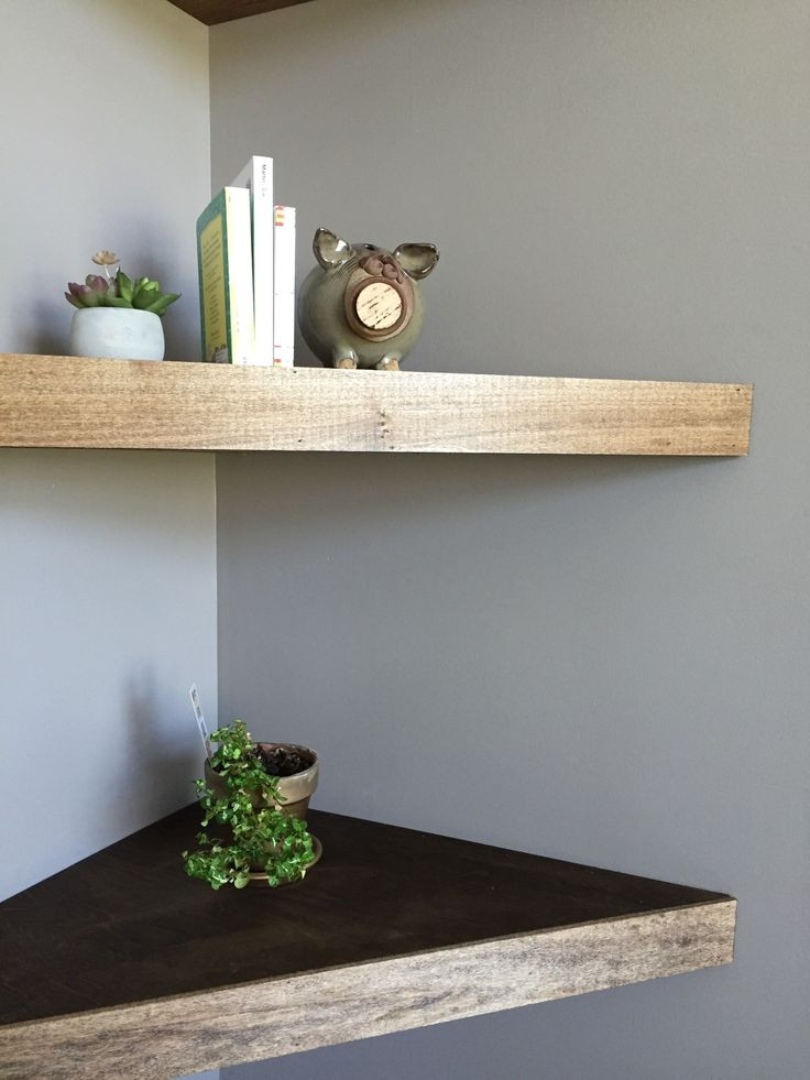 Best ideas about DIY Floating Corner Shelves . Save or Pin Best 25 Floating corner shelves ideas on Pinterest Now.