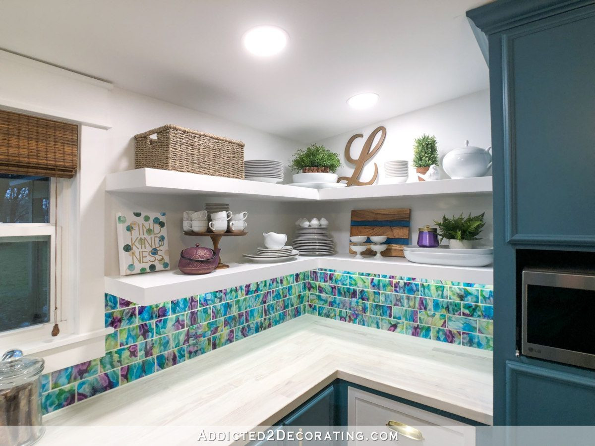 Best ideas about DIY Floating Corner Shelves . Save or Pin DIY Floating Corner Shelves For The Pantry Addicted 2 Now.