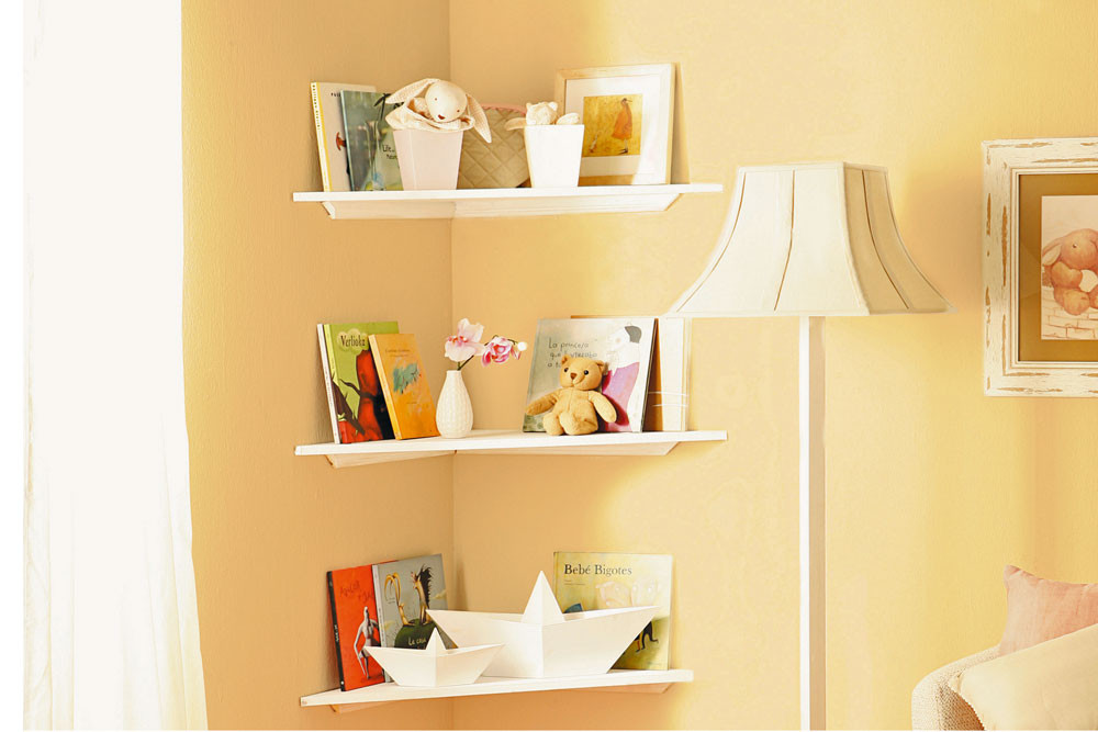 Best ideas about DIY Floating Corner Shelves . Save or Pin Do it yourself DIY Floating Corner Shelves Now.
