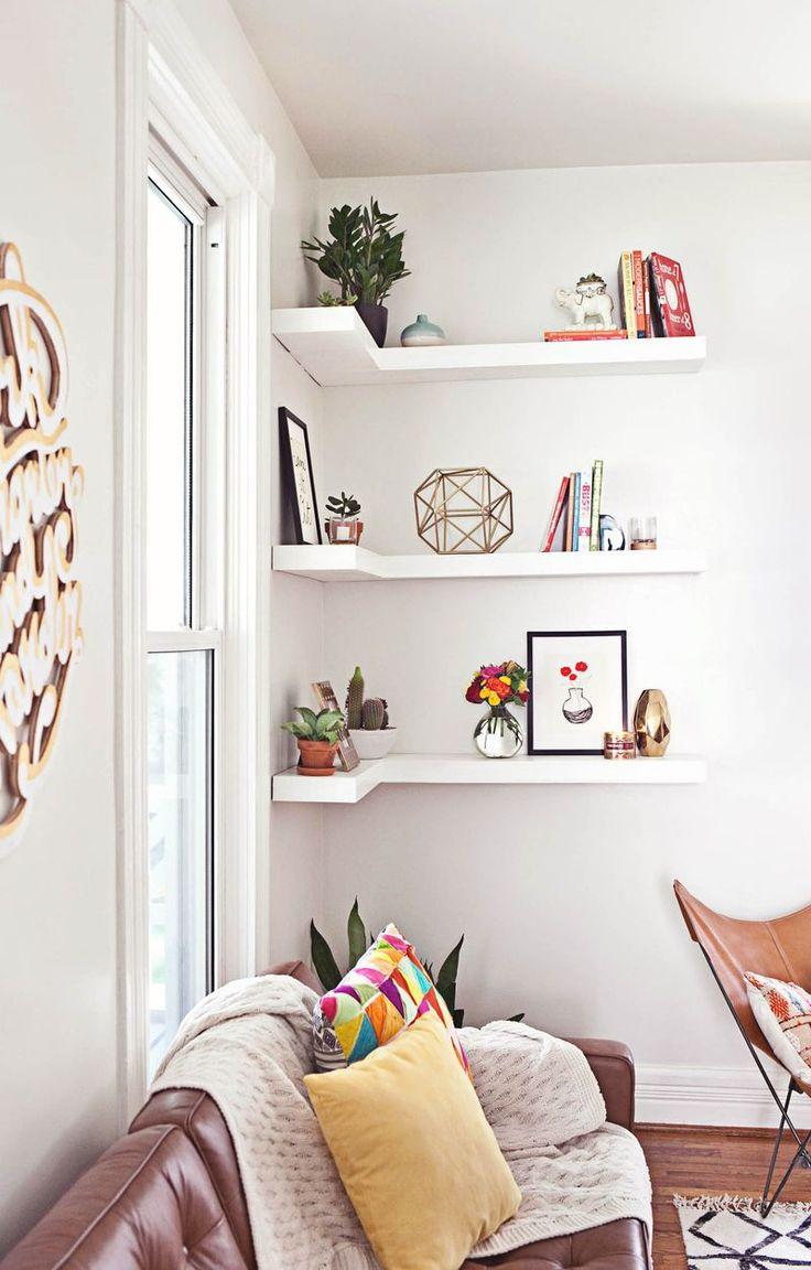 Best ideas about DIY Floating Corner Shelves . Save or Pin Best 10 Floating corner shelves ideas on Pinterest Now.