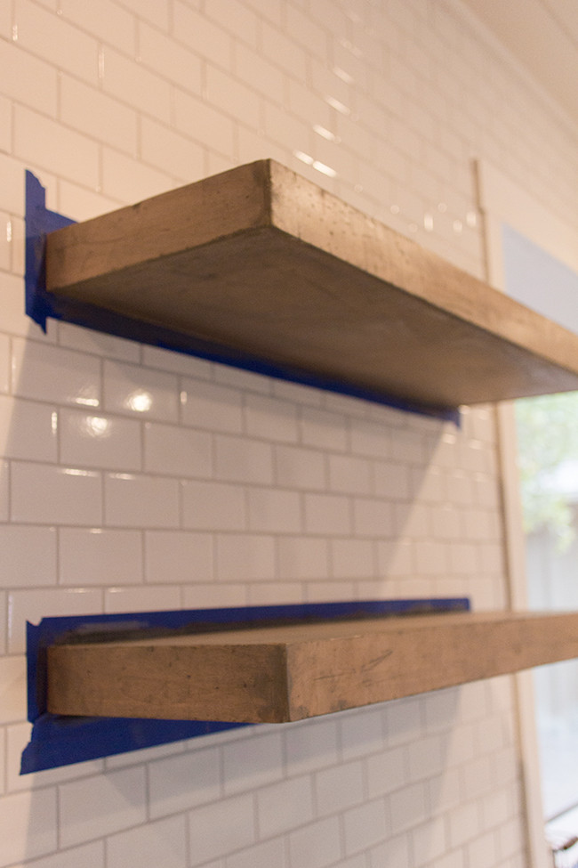 Best ideas about DIY Floating Kitchen Shelves . Save or Pin Kitchen Chronicles DIY floating rustic shelves Now.
