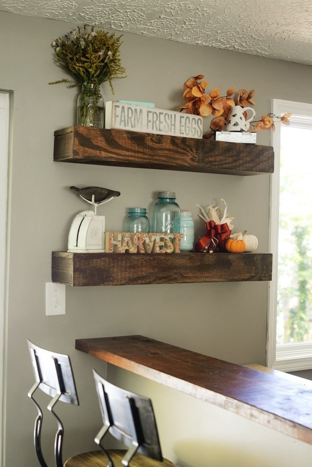 Best ideas about DIY Floating Kitchen Shelves . Save or Pin D I Y Floating Shelves – Good Morning Loretta Now.