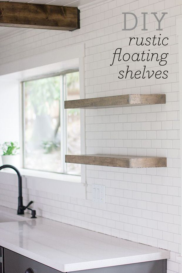 Best ideas about DIY Floating Kitchen Shelves . Save or Pin DIY Floating Shelves Now.