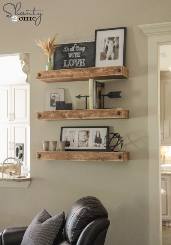 Best ideas about DIY Floating Shelves Plans . Save or Pin DIY Floating Shelves Now.