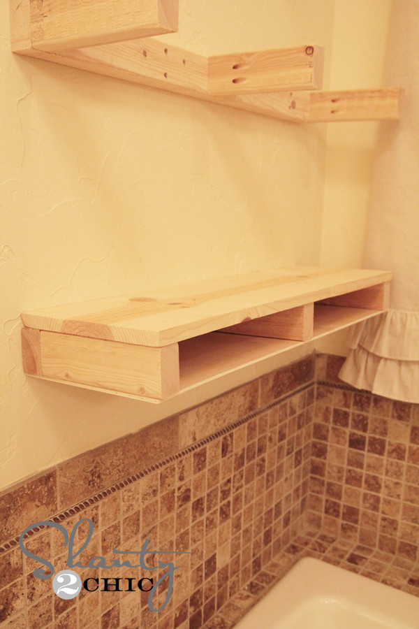 Best ideas about DIY Floating Shelves Plans . Save or Pin Easy DIY Floating Shelves Shanty 2 Chic Now.