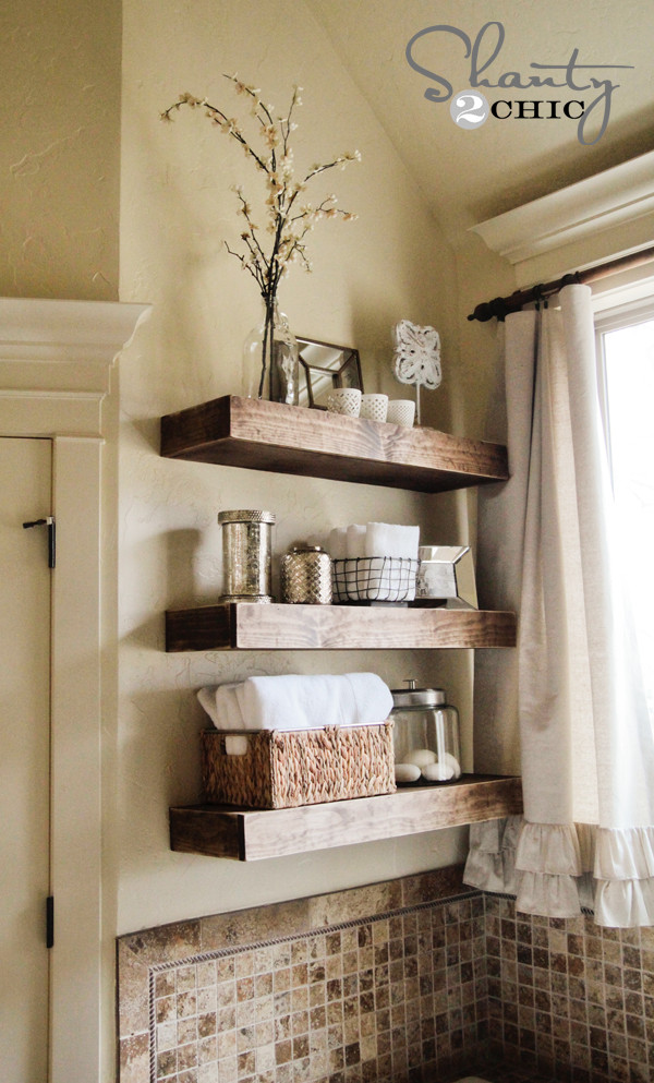 Best ideas about DIY Floating Shelves Plans . Save or Pin Easy DIY Floating Shelves Floating Shelf Tutorial Video Now.