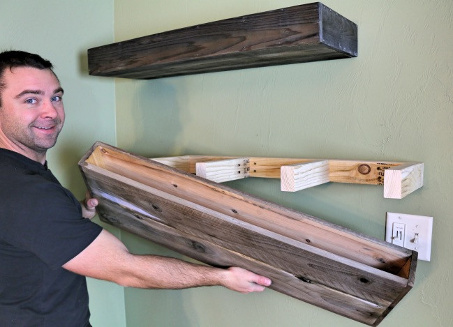 Best ideas about DIY Floating Shelves Plans . Save or Pin DIY Wood Floating Shelf How To Make e Now.