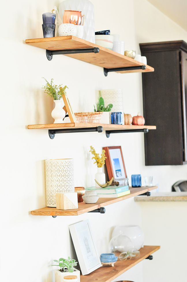 Best ideas about DIY Floating Wall Shelf . Save or Pin 46 Shelves Ideas Pinterest Decorating Shelves In A Now.